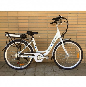 BIKE SENHORA SL5 MOTOR 250W, 36v10.4ah SAMSUNG BATTERY, LED