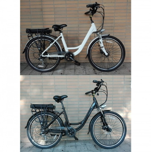 BIKE SENHORA SL5 MOTOR 250W, 36v10.5ah SAMSUNG BATTERY, LED